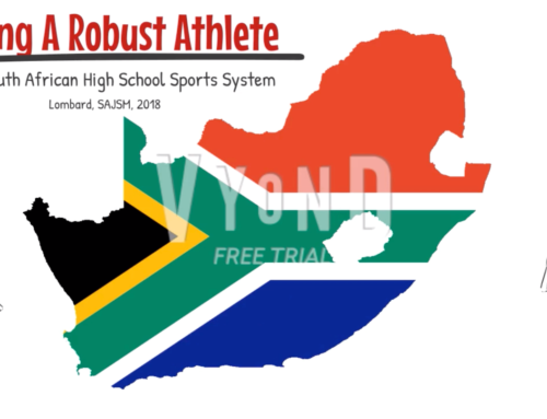 Building a Robust Athlete in the South African High School Sports System