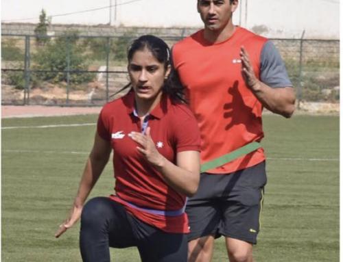 Vinesh Phogat: Sweat, strength and broken bones