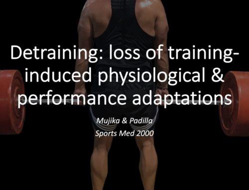Detraining in Athletes: Part 2 (Paper Summary)