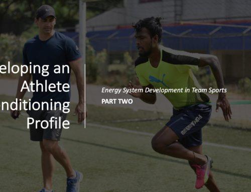 Energy system development in team sports: Part 2